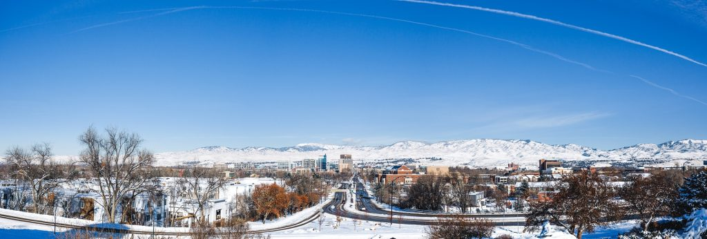 photo depicting view of Boise ID