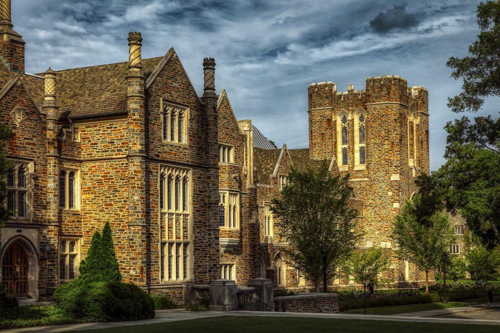 photo of duke university in durham north carolina