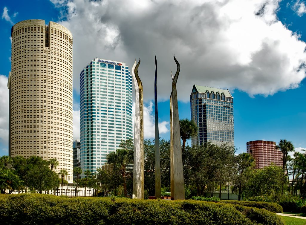 photo of downtown Tampa Florida