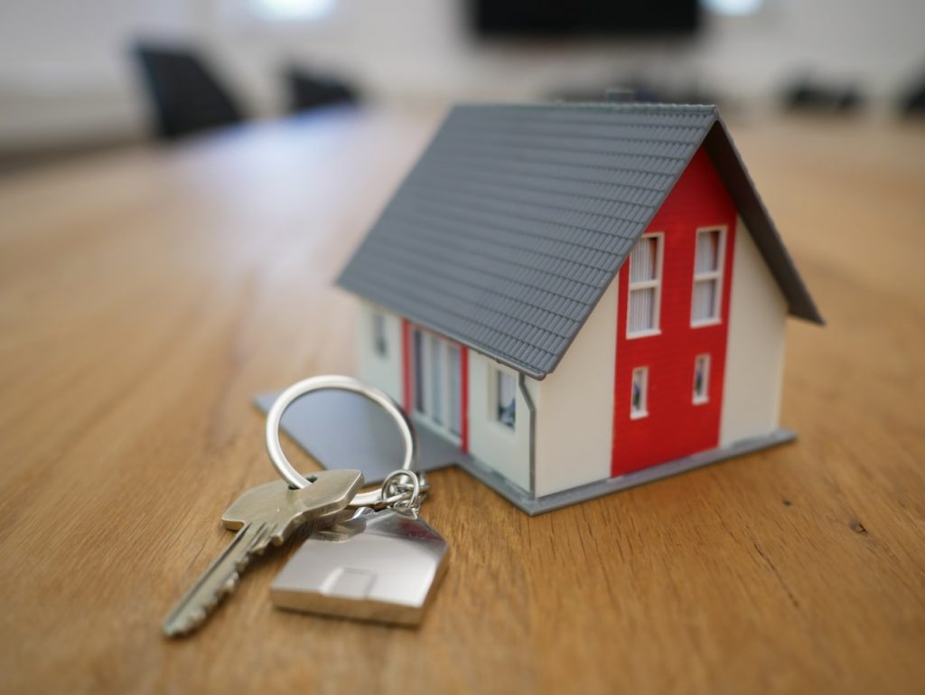 Toy House with Key